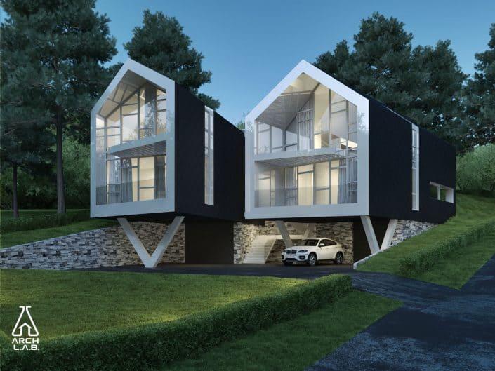 Individualaus namo statyba